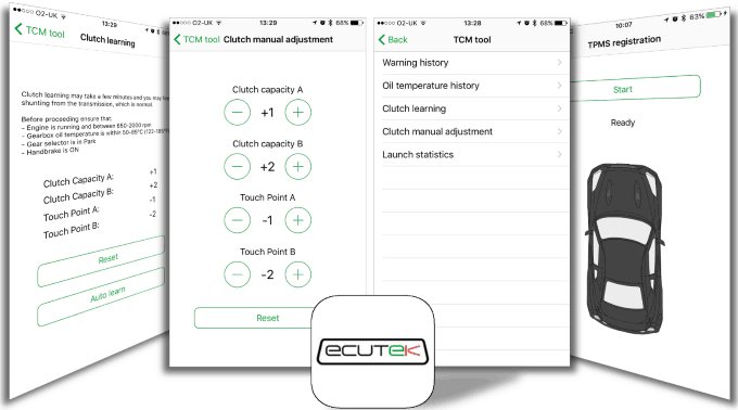 Ecutek Bluetooth Package w/ ECU + TCM Flashing (Includes FREE SBD Optimized  Transmission Tune)